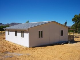 3 Bedroom Unit Temporary Modular Building Solutions - South Africa - Prefab