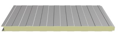 Interlocking tongue and groove wall panel