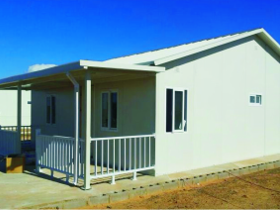 2 Bedroom Unit Temporary Modular Building Solutions - South Africa - Prefab